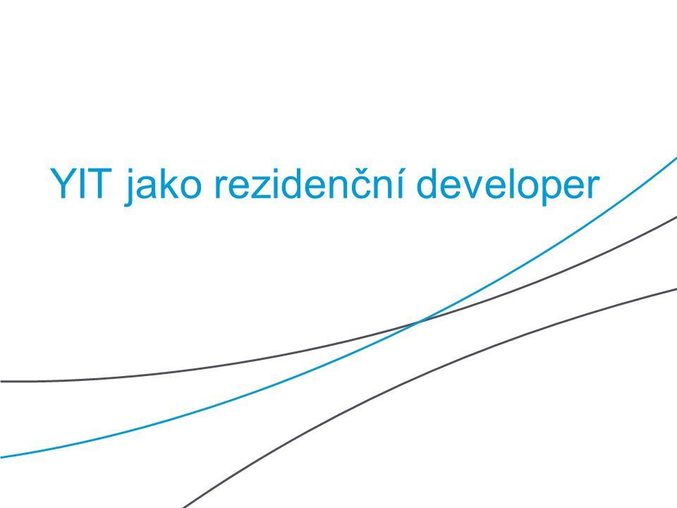 YIT   15   Public YIT jako rezidenční developer