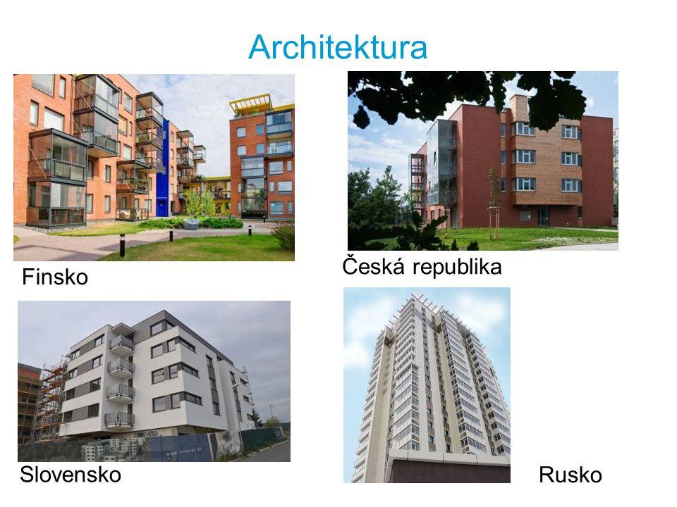 Architektura Finsko Česká republika Rusko Slovensko