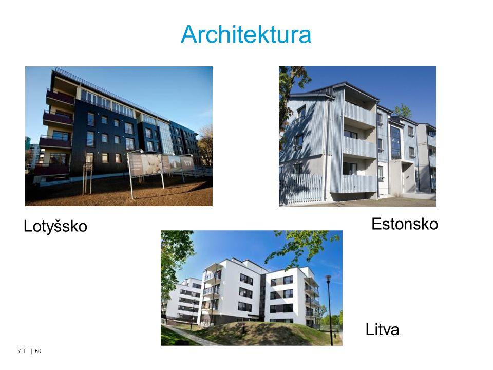 Architektura YIT | 50 Lotyšsko Litva Estonsko