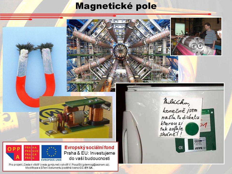 """Magnetické pole Pro projekt """"Cesta k vědě (veda.gymjs.net) vytvořil V."""