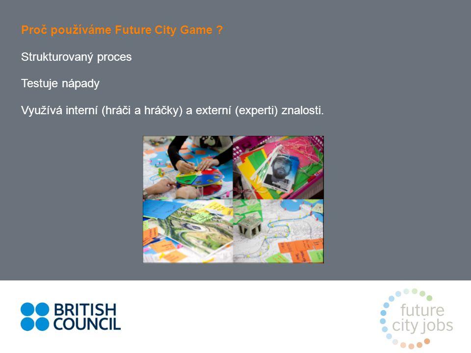 Proč používáme Future City Game .