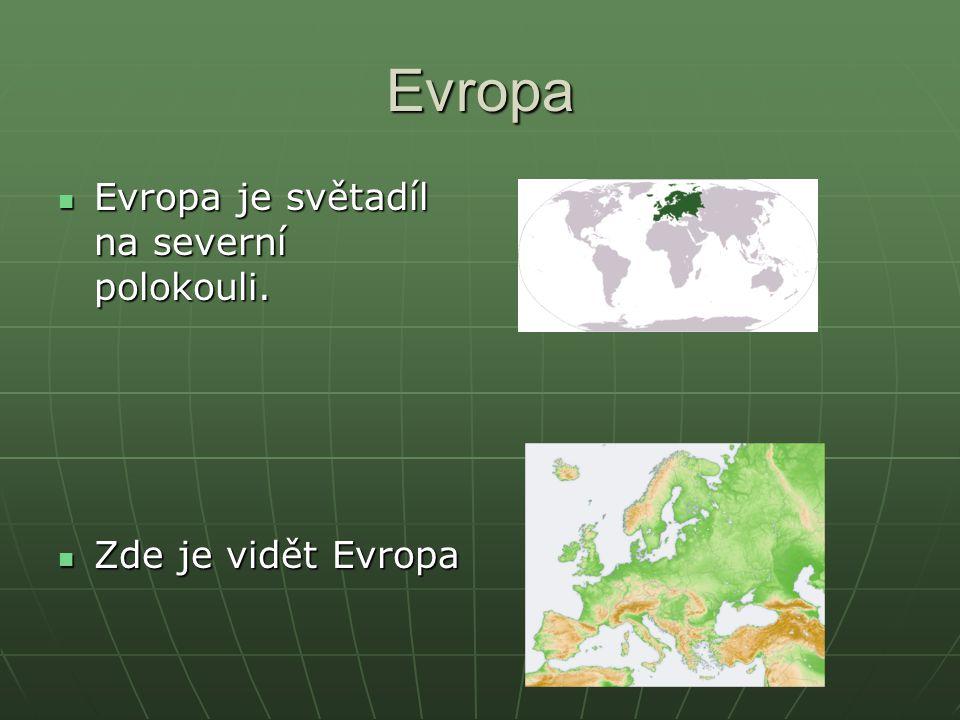 Evropa Jan Šafařík Daniel Jindřichovský Jan Šafařík Daniel Jindřichovský Informace o Evropě 2007 Informace o Evropě 2007