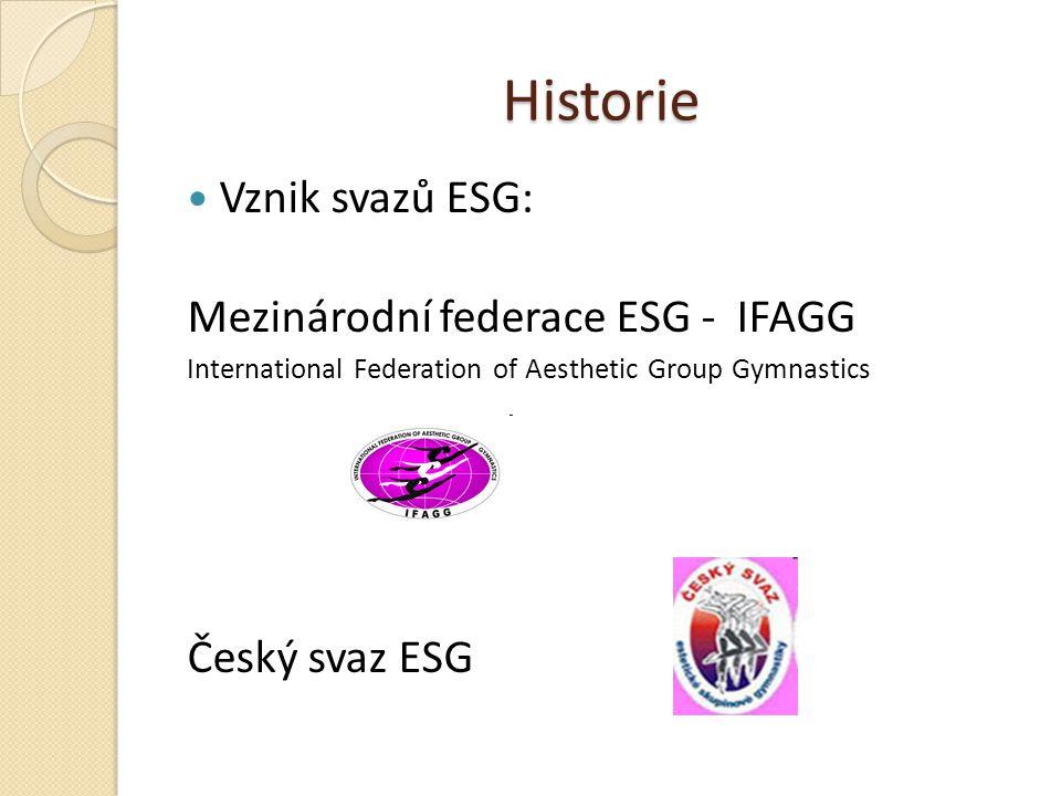 Charakteristika společná skladba bez náčiní - cvičí 6 - 14 gymnastek (podle věkových kategorií, seniorky 6 - 10) cvičí se na koberci o rozměrech 13x13m hudební doprovod - libovolný, myšlenka, příběh soutěžní sport určený výhradně ženám a dívkám skladby jsou spojením prvků moderní gymnastiky a tance