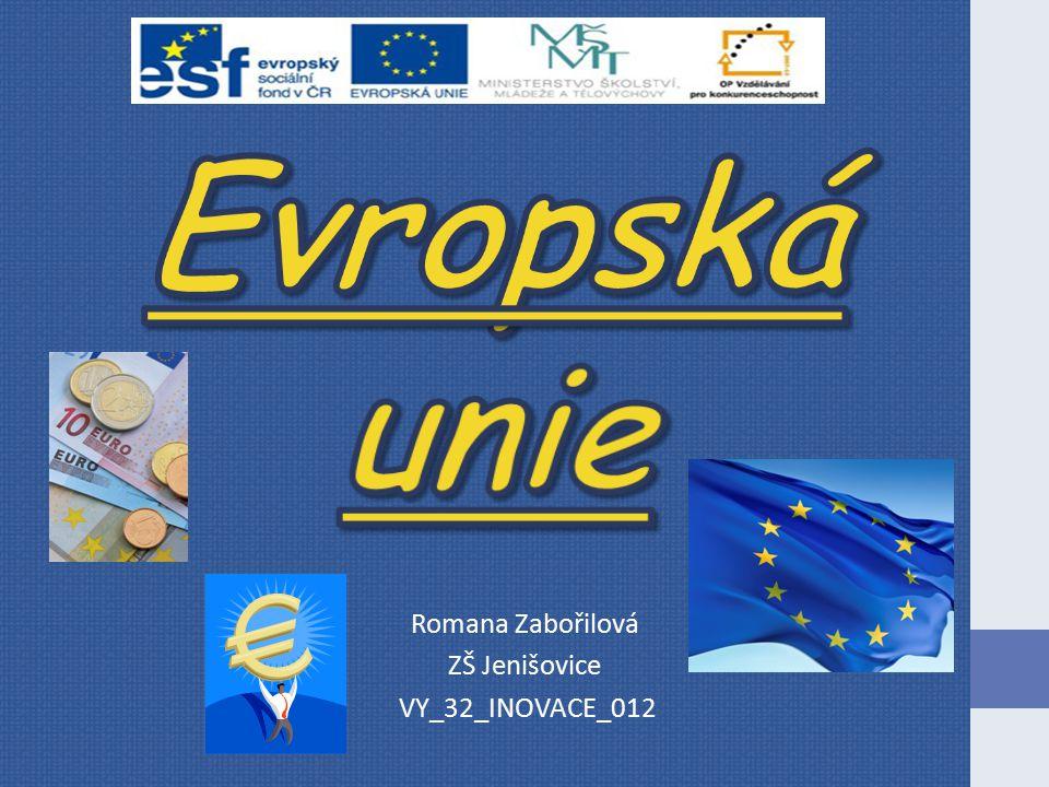 Romana Zabořilová ZŠ Jenišovice VY_32_INOVACE_012