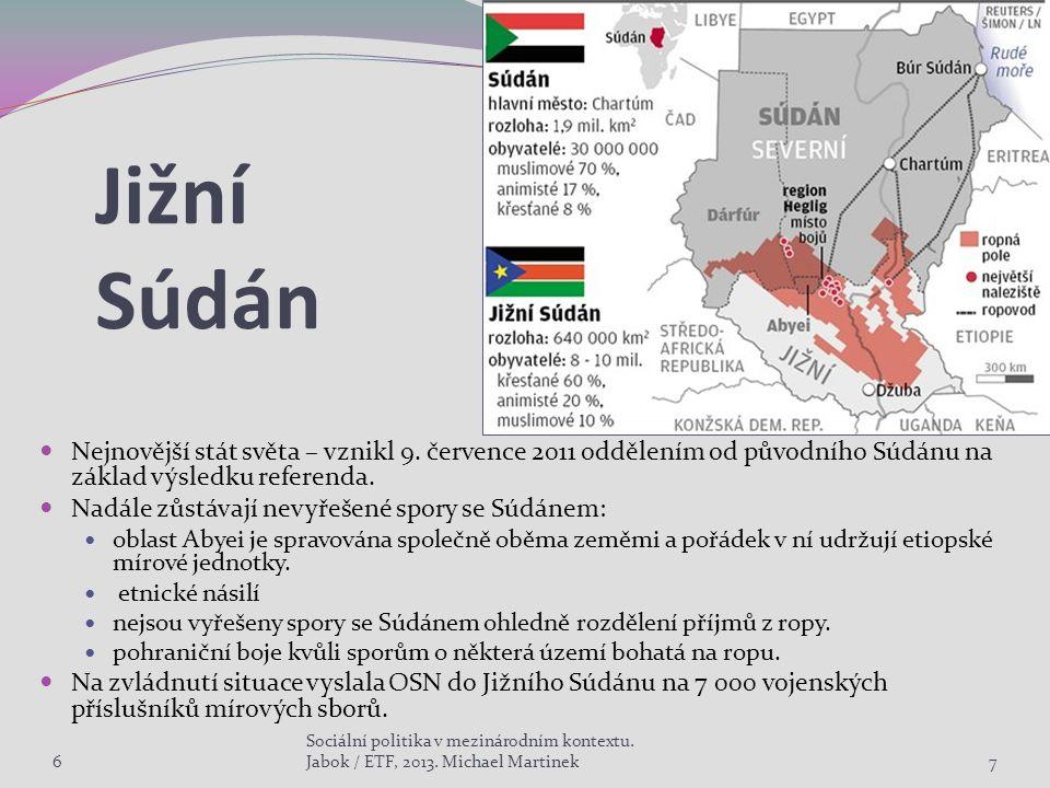 Jižní Súdán Nejnovější stát světa – vznikl 9.