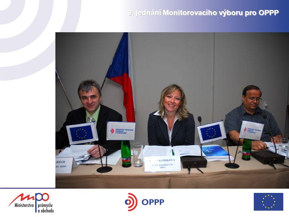 9. jednání Monitorovacího výboru pro OPPP