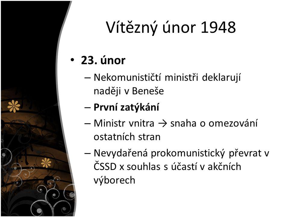 Vítězný únor 1948 23.