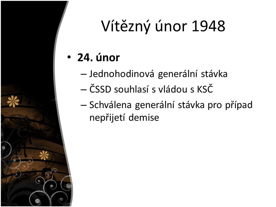 Vítězný únor 1948 24.
