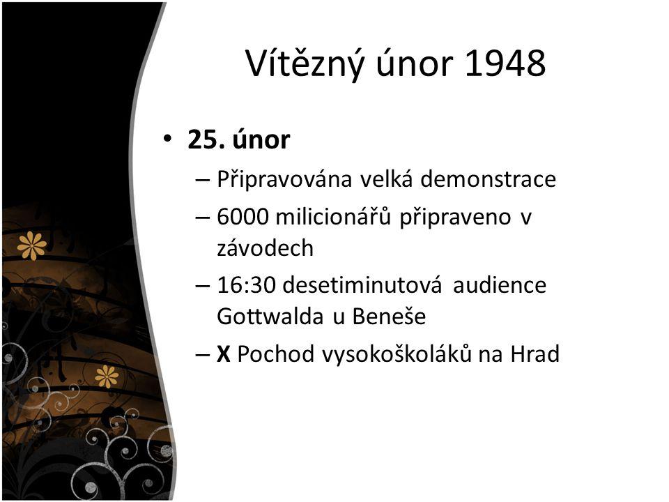 Vítězný únor 1948 25.