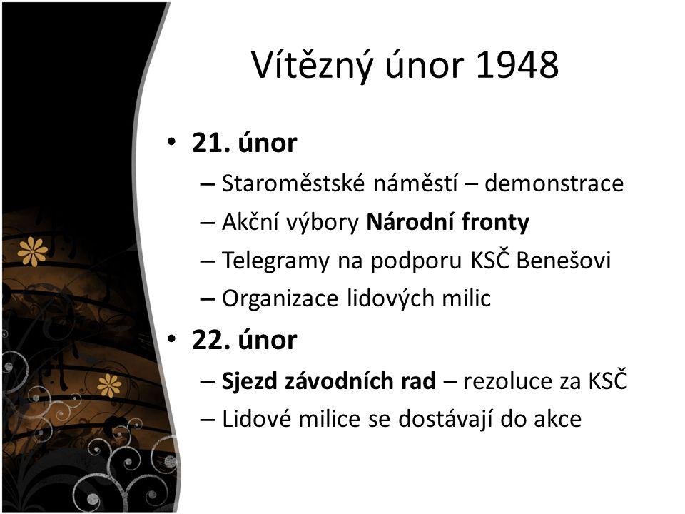 Vítězný únor 1948 21.