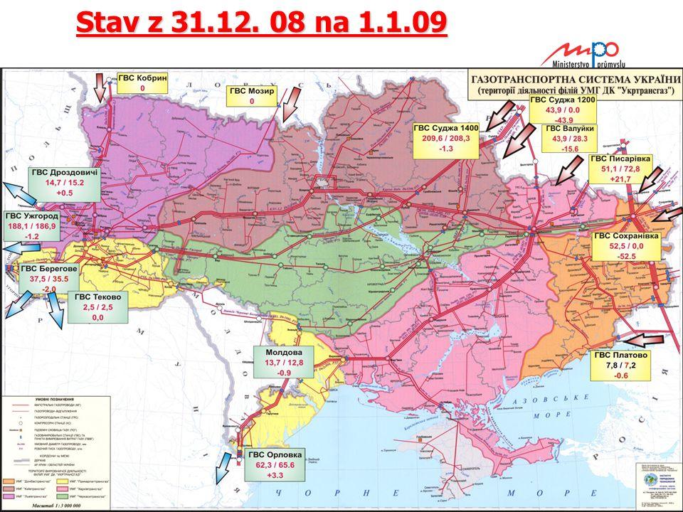  2004  Ministerstvo průmyslu a obchodu 10 Stav z 31.12. 08 na 1.1.09