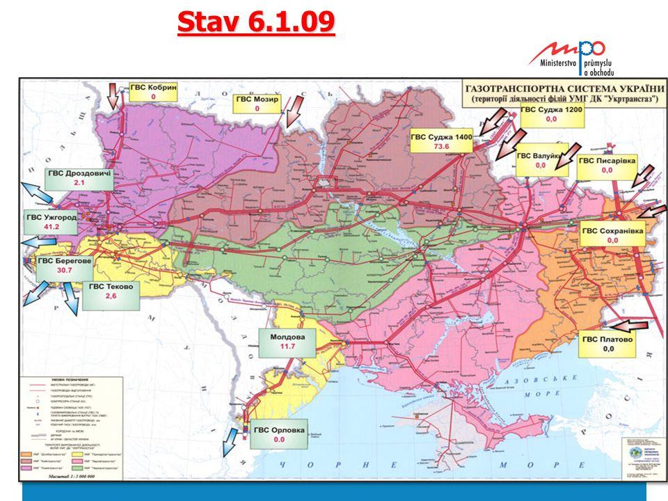  2004  Ministerstvo průmyslu a obchodu 11 Stav 6.1.09