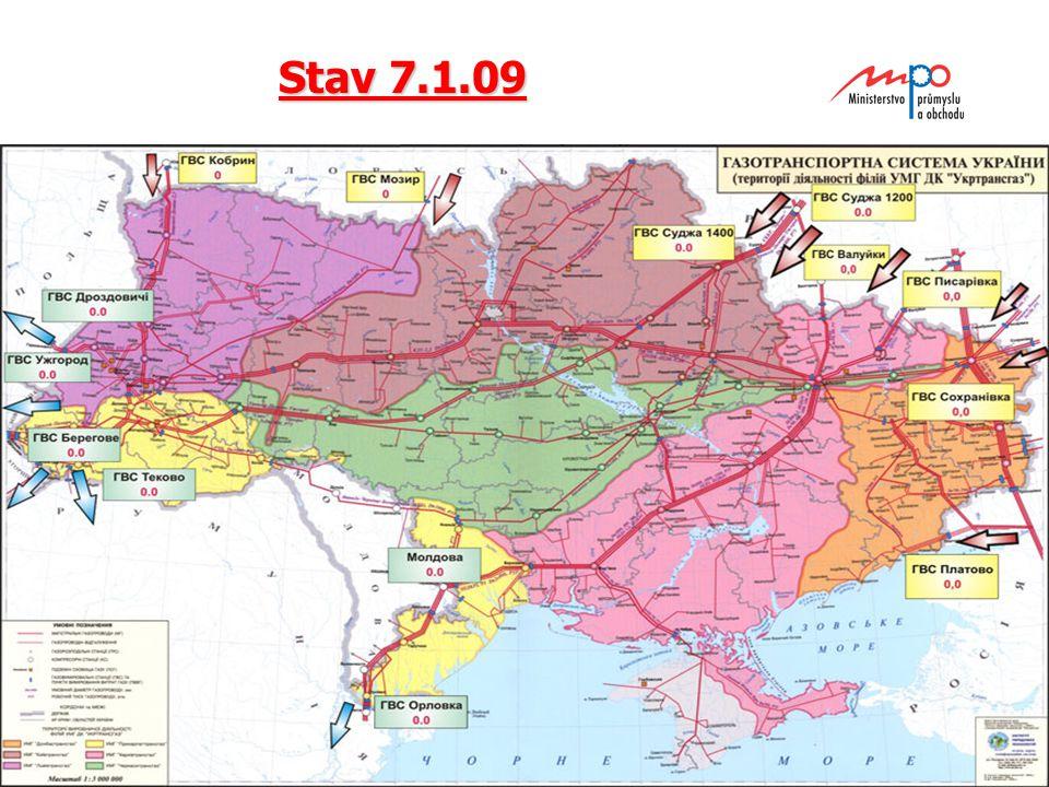  2004  Ministerstvo průmyslu a obchodu 12 Stav 7.1.09