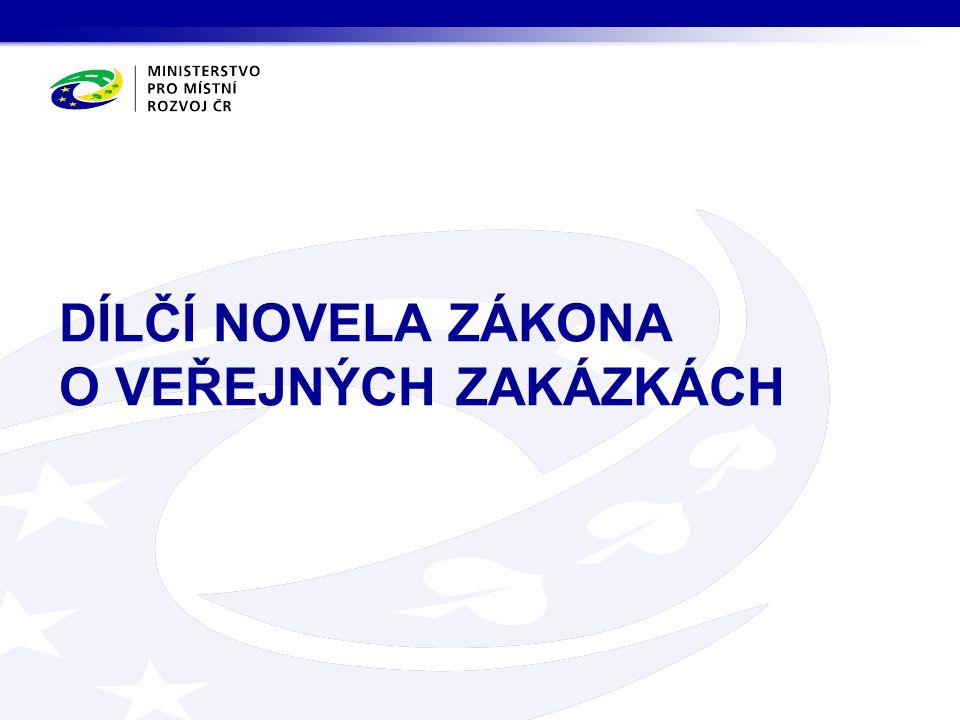 novelizace zákona č.137/2006 Sb.