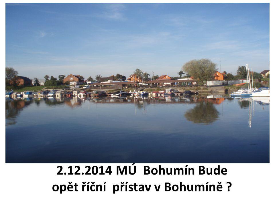 POSEJDON 2.12.2014 MÚ Bohumín Bude opět říční přístav v Bohumíně ?