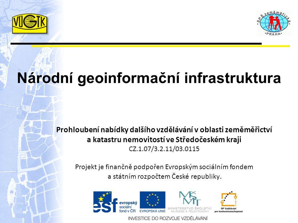 Implementace GeoInfoStrategie 3.etapa – realizace řešení projednání změn právního rámce realizace technických opatření dle harmonogramu