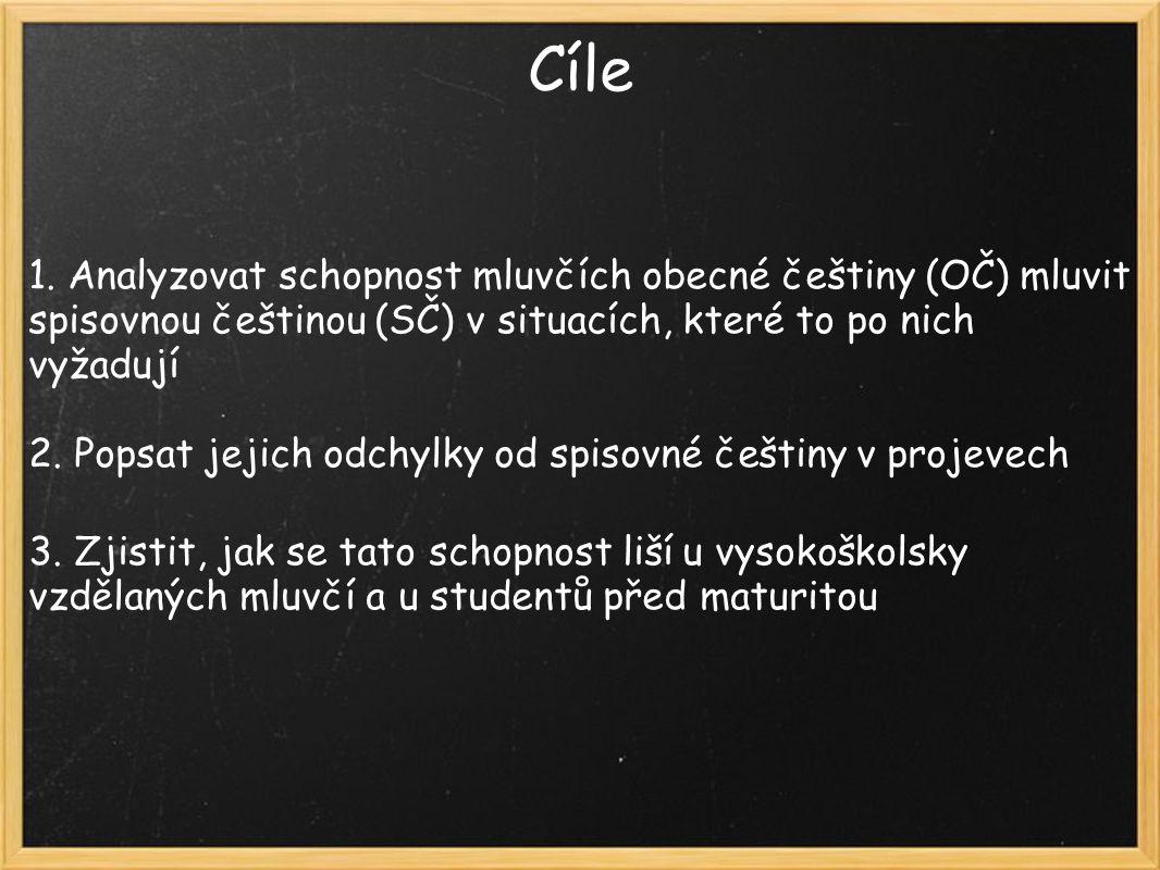 Rysy mluveného jazyka ve spisovných projevech 3.