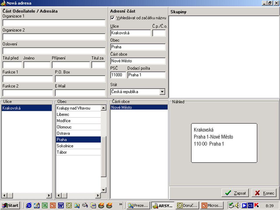 Digitalizace a archivace dokumentů IS SSP - centrální spisovna Centrální systém SSP  Písemnosti jsou přijímány a ukládány pouze v archivních krabicích.