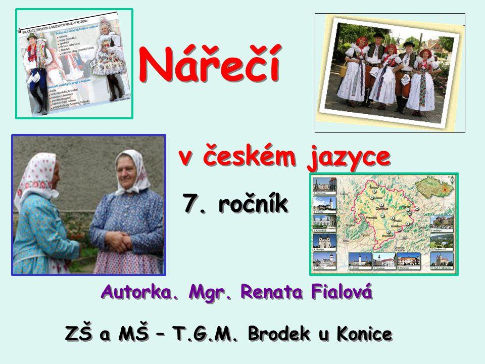 Mapa nářečí ČR - správně doplň nářečí: středočeská středomoravská slezská východomoravská