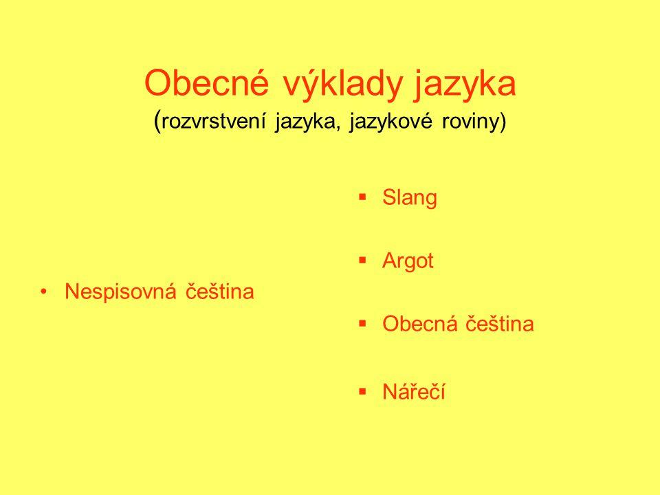 Nářečí (dialekt) JJe spojeno s určitou oblastí, některé oblasti nevyhraněné, nářečí slábne NNářečí je spojeno s lidovým způsobem života, písněmi, tanci, zvyky