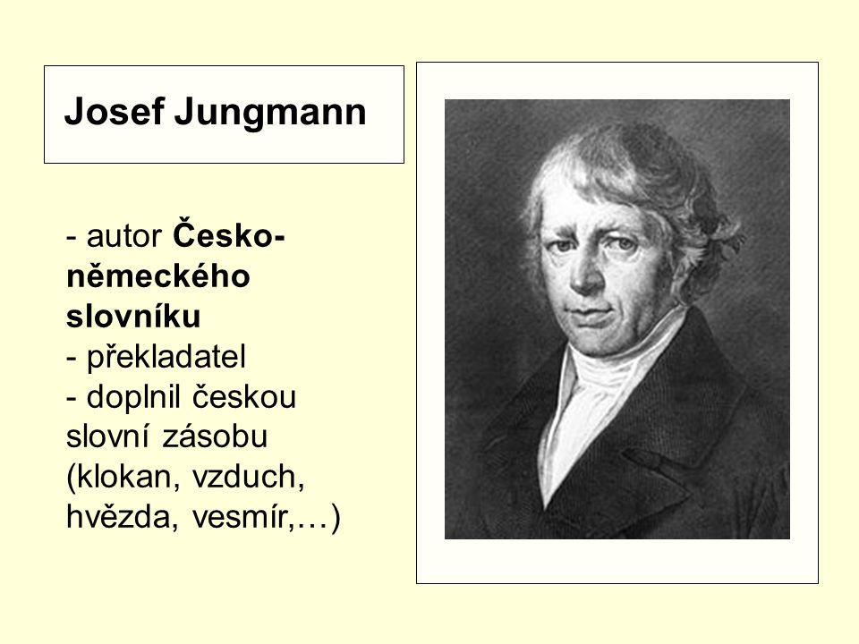 Jan Svatopluk Presl - přírodovědec - vlastenec - tvůrce odborného názvosloví (kyslík, vodík, blizna,…)