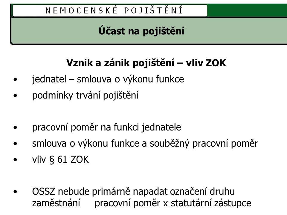 NEMOCENSKÉ POJIŠTĚNÍ Vyplňování tiskopisů - on-line na webu www.cssz.cz Při vyplňování se aplikace neustále připojuje na e-portál a při kontrole pošle tzv.
