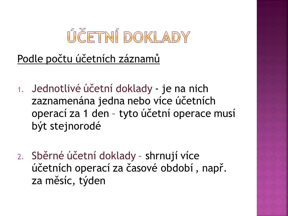 Organizace PŘÍJMOVÝ pokladní doklad č.