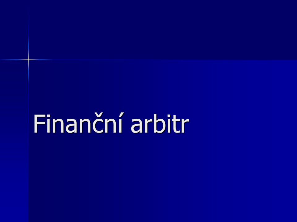 Finanční arbitr