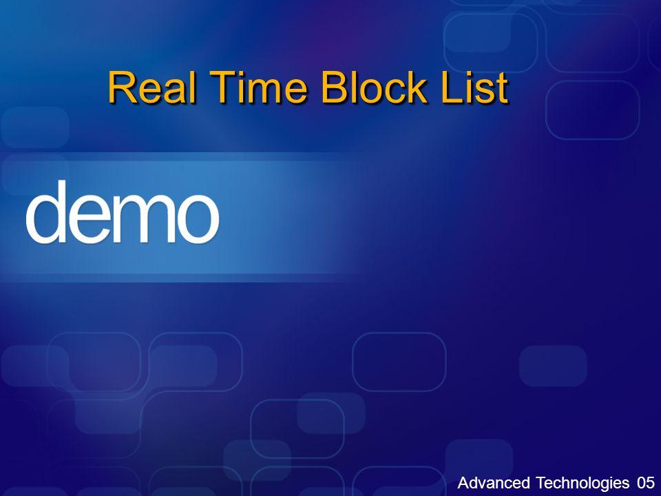 """Rozšíření v rámci Outlook 2003 Uživatelem definované bezpečné a blokované seznamy Bezpeční odesílatelé, bezpeční příjemci, blokovaní odesílatelé Mohou také obsahovat kontakty a GAL Uživatelské seznamy jsou sdílené mezi Outlook 2003 a Exchange 2003 OWA a jsou uloženy na serveru Přesun do složky nevyžádaná pošta je podmíněn: Nastavením uživatelských seznamů bezpečných a blokovaných uživatelů Hodnocení zprávy SCL Klientským nastavením a hodnocením Microsoft SmartScreen Technology """"By default blokování veškerého externího obsahu (web beacons)"""