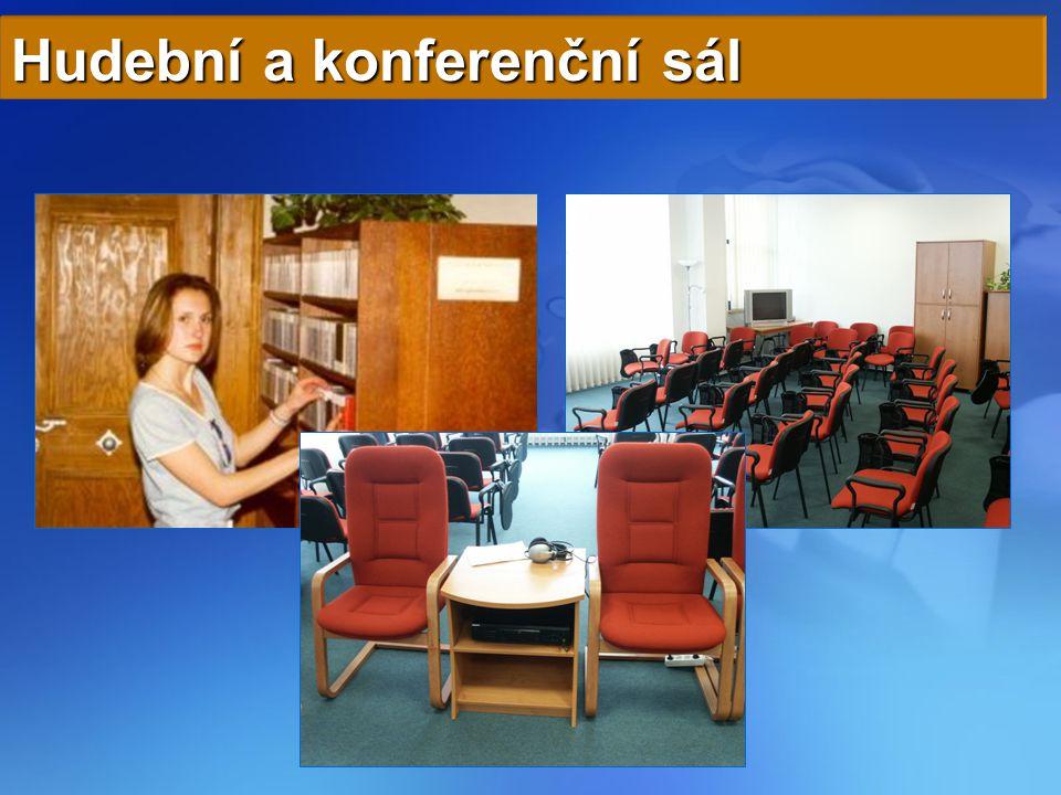 Hudební a konferenční sál