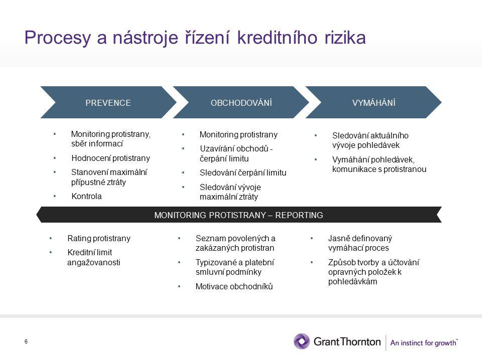 Prevence – Princip hodnocení 7 Rating Informace Finanční situace Platební morálka Důvěra PROTISTRANA Finanční síla Podíl na oček.