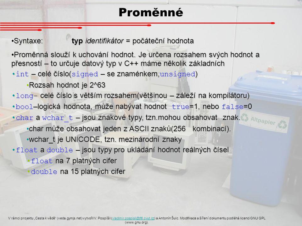 """Pole V rámci projektu """"Cesta k vědě (veda.gymjs.net) vytvořil V."""