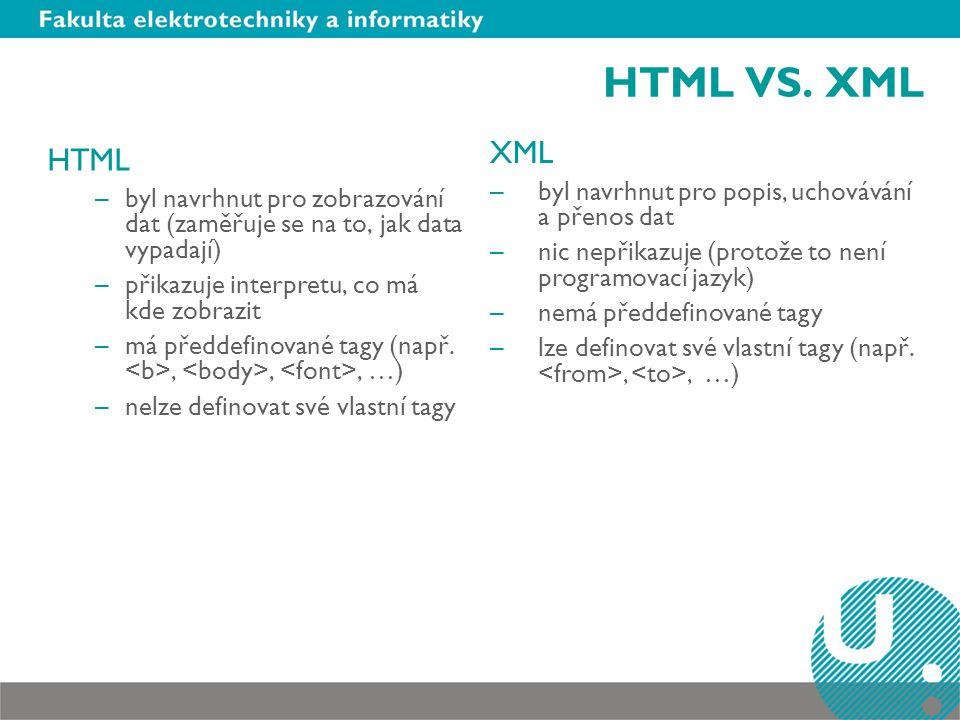 HTML VS.