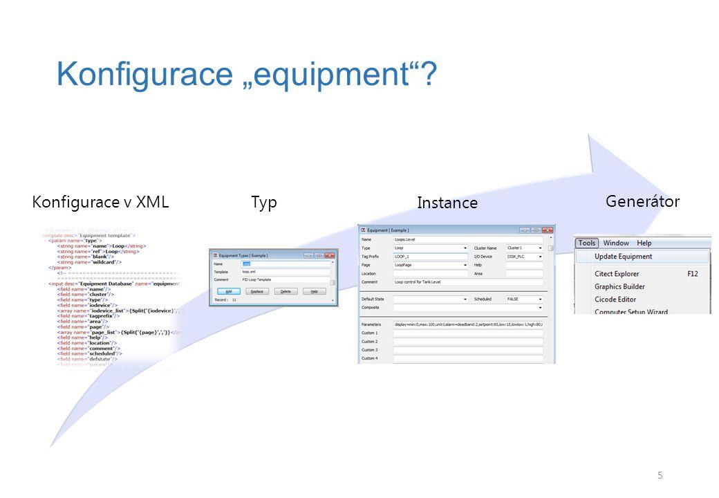 "Struktura XML Šablona ""equipments 6"