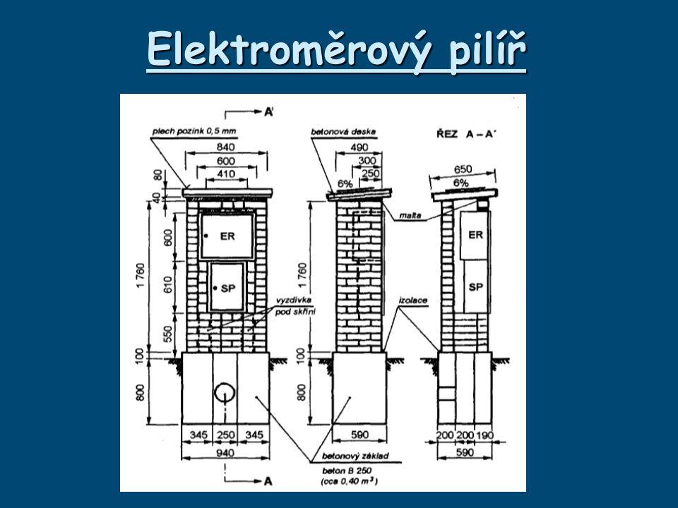 Elektroměrový pilíř