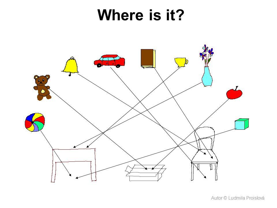 Where is it? Autor © Ludmila Proislová