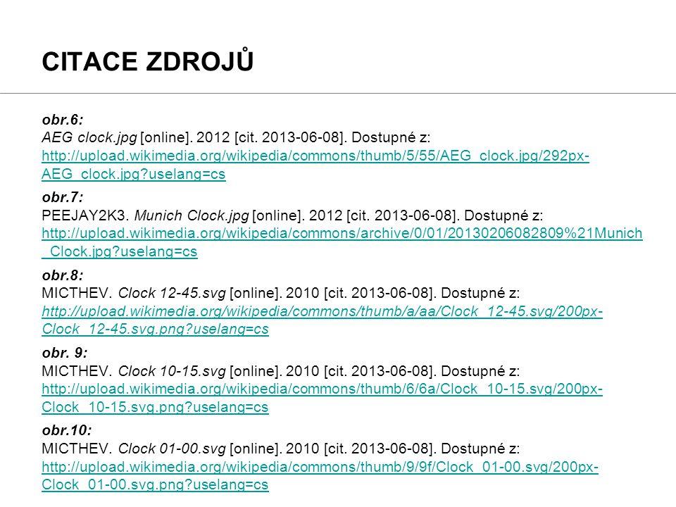 obr.6: AEG clock.jpg [online]. 2012 [cit. 2013-06-08]. Dostupné z: http://upload.wikimedia.org/wikipedia/commons/thumb/5/55/AEG_clock.jpg/292px- AEG_c