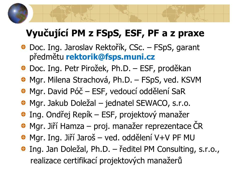 9.Přednáška 15.4.2014 Právní aspekty projektů včetně příkladů Přednášející Mgr.