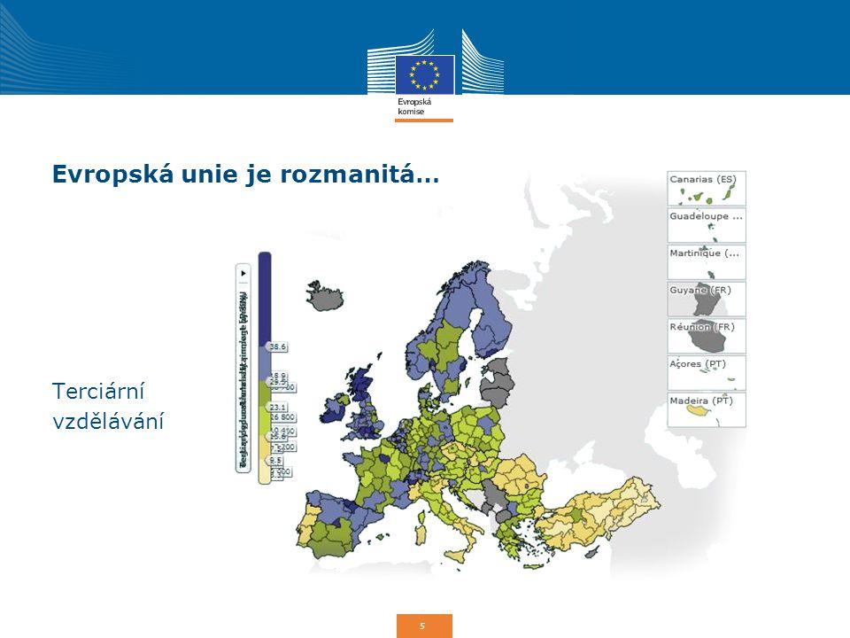 6 Proč politika soudržnosti EU.