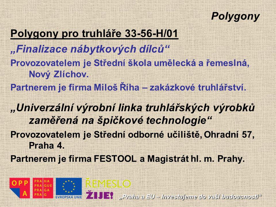 """Polygony Polygony pro kuchaře a číšníky 65-51-H/01 """"Restaurační provoz Provozovatelem je SOŠ a SOU Praha – Čakovice, Ke Stadionu 623."""