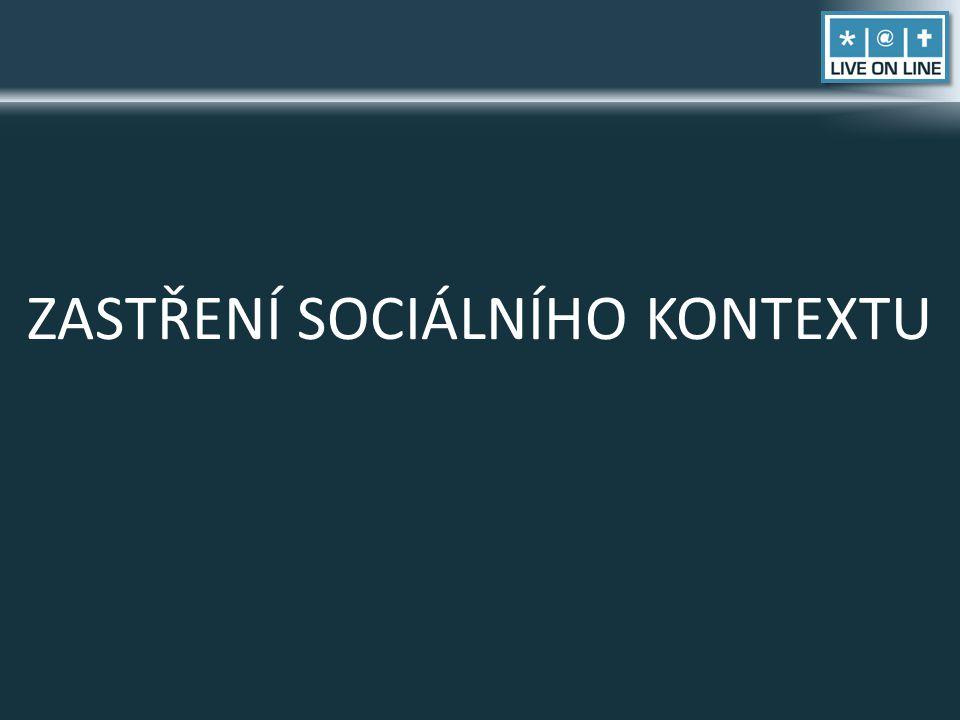 ZASTŘENÍ SOCIÁLNÍHO KONTEXTU