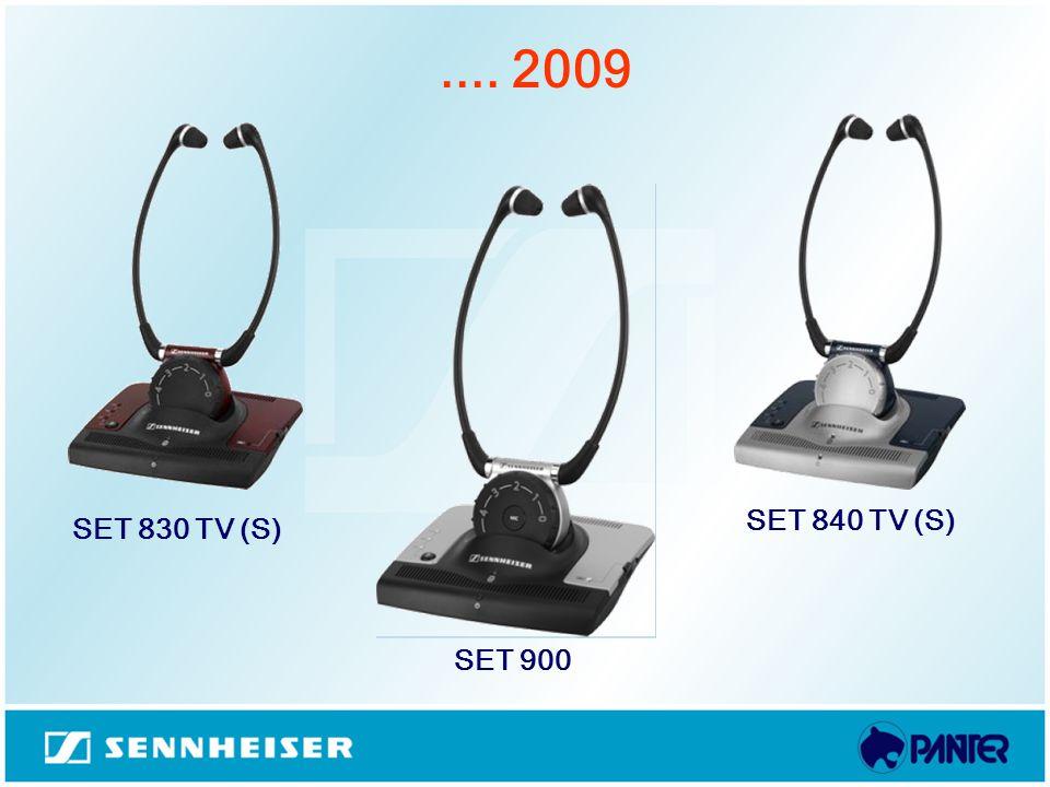 .... 2009 SET 830 TV (S) SET 900 SET 840 TV (S)