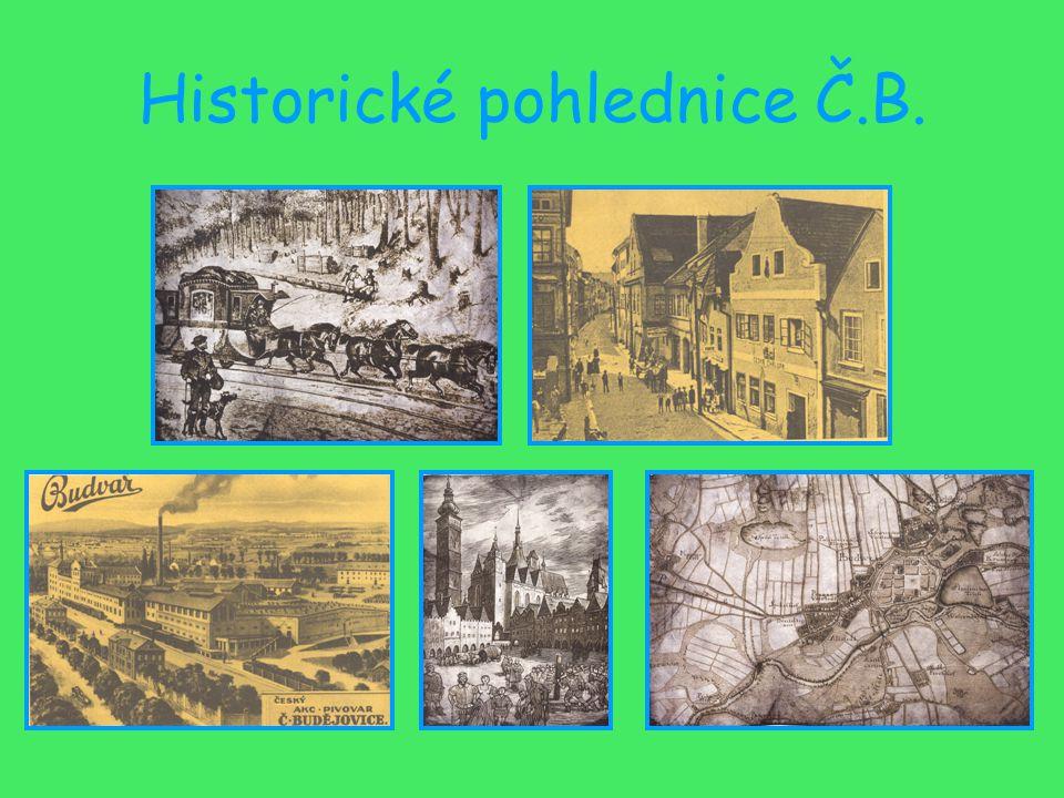 Historické pohlednice Č.B.