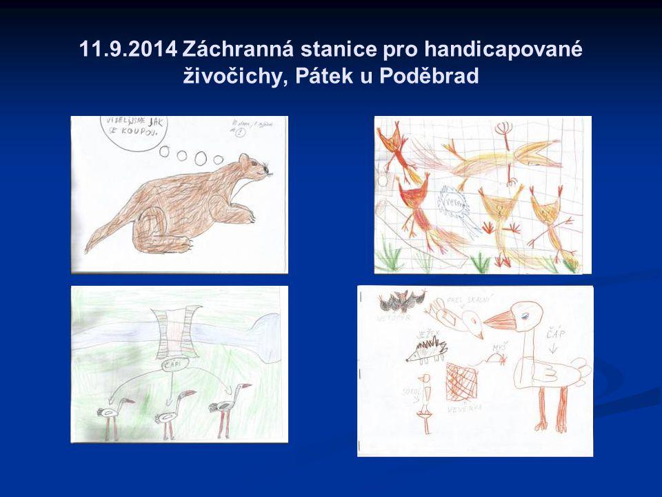 11.9.2014 Záchranná stanice pro handicapované živočichy, Pátek u Poděbrad