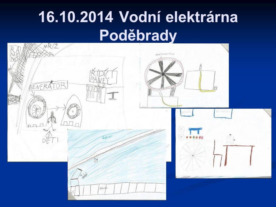 16.10.2014 Vodní elektrárna Poděbrady