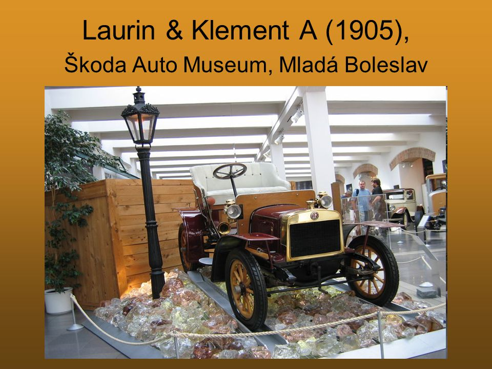 Laurin & Klement A (1905), Škoda Auto Museum, Mladá Boleslav