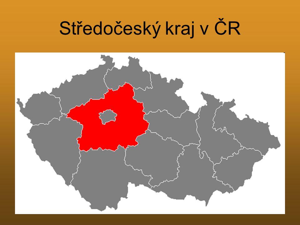 Středočeský kraj v ČR