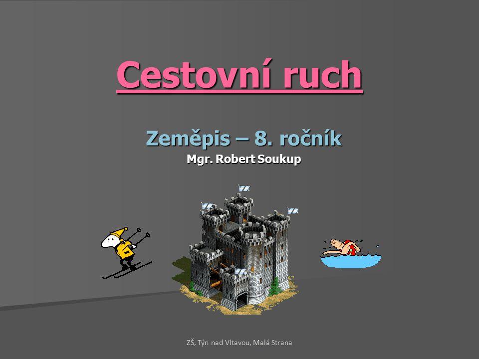 Cestovní ruch Zeměpis – 8. ročník Mgr. Robert Soukup ZŠ, Týn nad Vltavou, Malá Strana