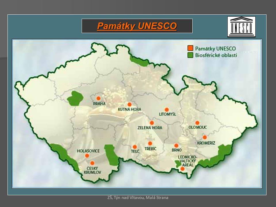 Památky UNESCO ZŠ, Týn nad Vltavou, Malá Strana