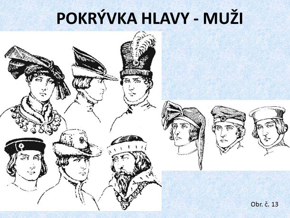 POKRÝVKA HLAVY - MUŽI Obr. č. 13